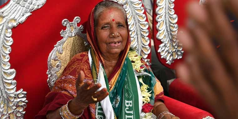 Odisha's fairy godmother: Child bride-turned-social worker now an MP