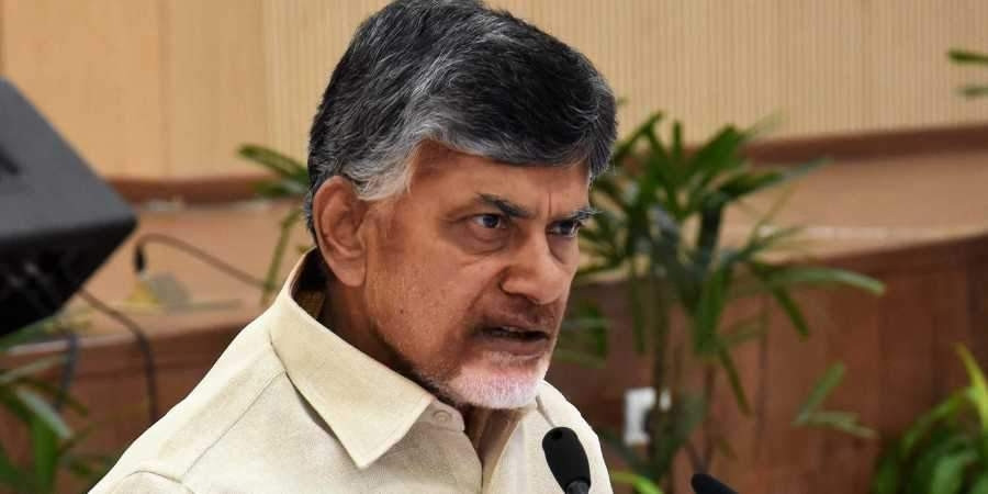 Opposition leader Chandrababu Naidu dares cops to arrest him