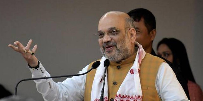 """Every Single Illegal Immigrant Will Be Thrown Out"": Amit Shah In Assam"