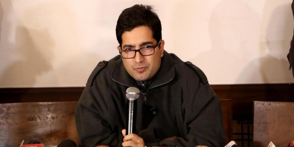 Shah Faesal retracts plea against 'illegal detention' from Delhi HC