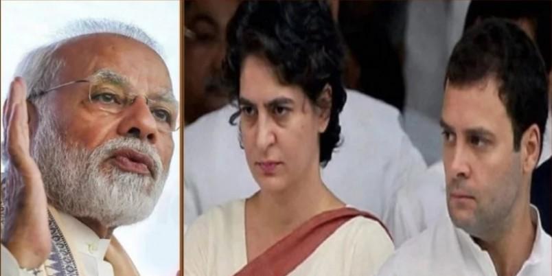 राजीव गांधी पर पीएम मोदी के हमले से भड़के राहुल, प्रियंका बोलीं- बेलगाम सनक में शहादत का अपमान