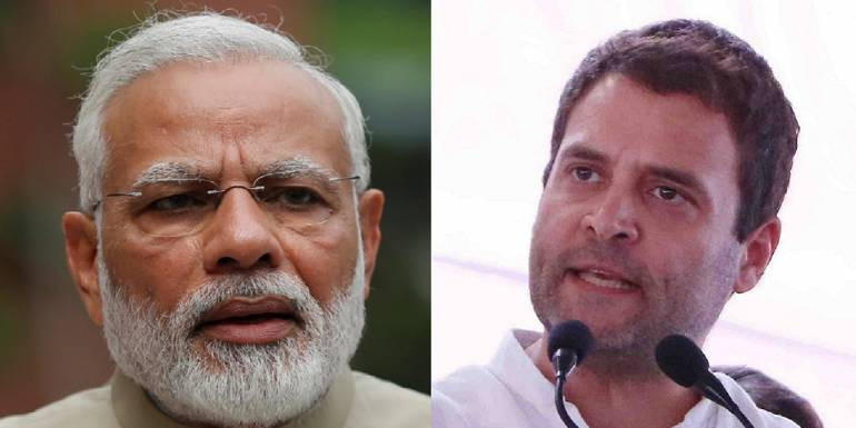rahul gandhi tweet pm modi uses loksabha hate fear anger