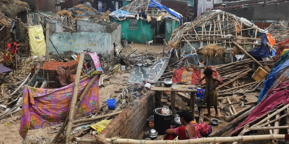 A week after Cyclone Fani battered Odisha, survivors reel under shortages of food, water and power