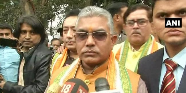 Bengal BJP Chief Dilip Ghosh's Assets Up By 50% Since 2016 Assembly Polls