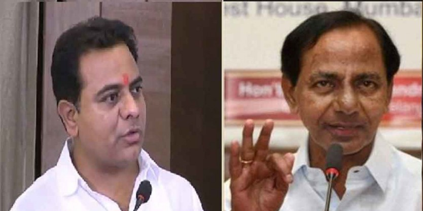 KCR and KTR congratulates TRS leaders for victory in Council elections