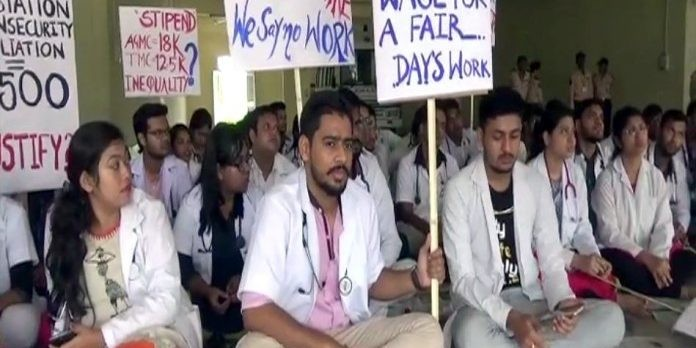 Tripura doctors abstain from duties in state run hospital