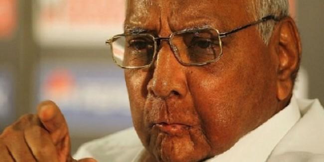 एनसीपी अध्यक्ष शरद पवार ने मानी हार लेकिन EVM पर उठाए सवाल