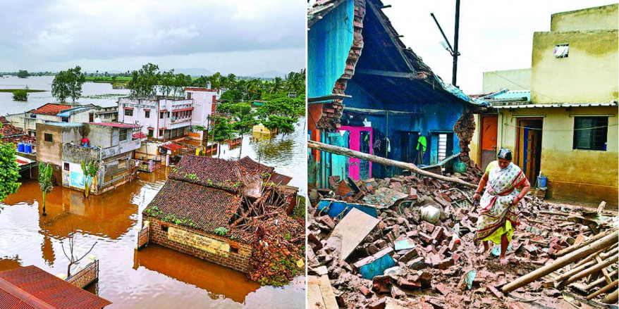 Maharashtra govt to construct houses for flood victims