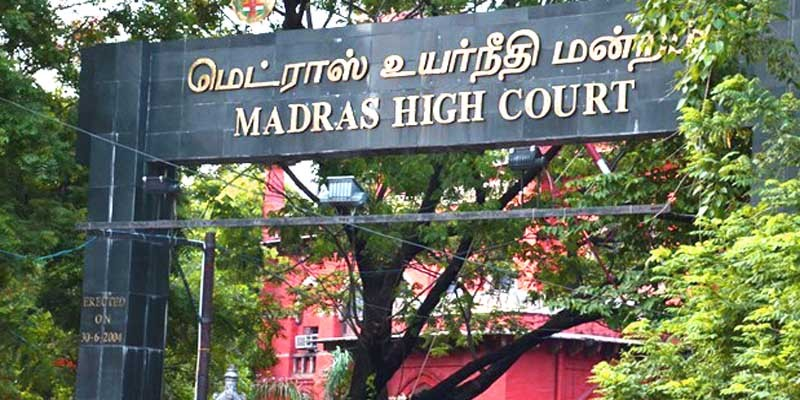 Madras HC orders land acquisition by the Tamil Nadu government as illegal