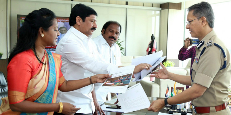 YSRCP Accuses TDP of Posting Objectionable Social Media Updates on CM Jagan Mohan Reddy and Family