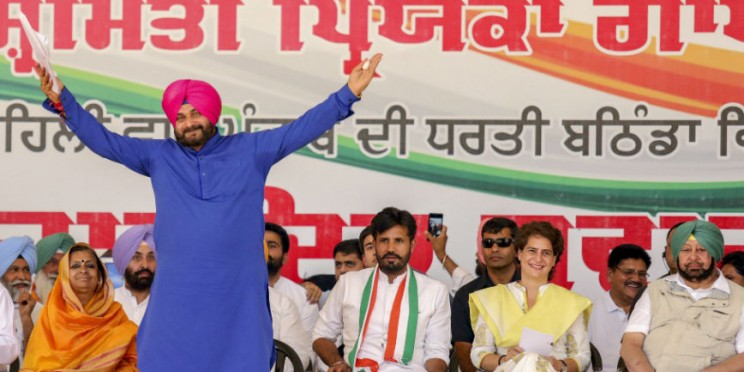 Month on, Navjot Singh Sidhu yet to assume charge of new Portfolio