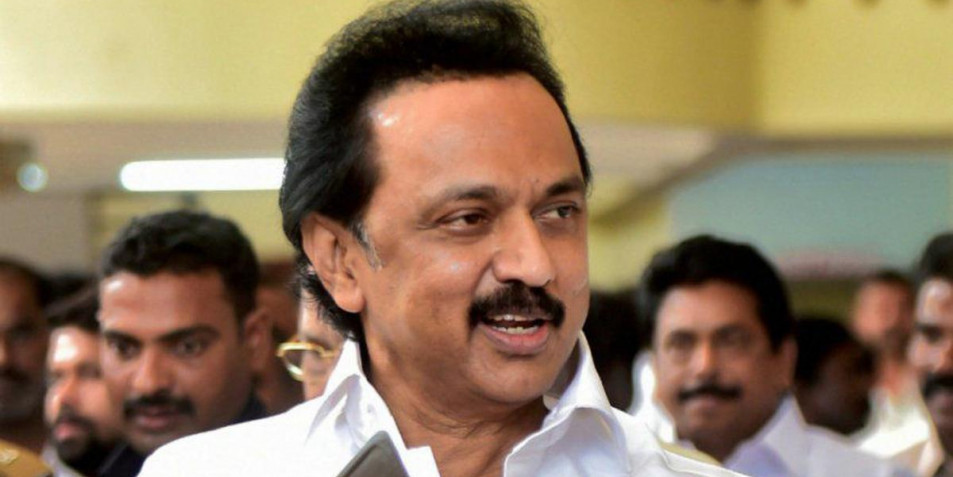 M K Stalin raises his voice for the railway exam to be taken in all regional languages