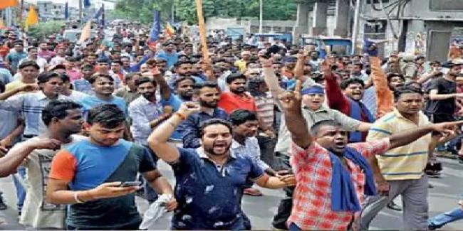 सुप्रीम कोर्ट के आदेश के बाद दिल्ली में हटाया गया रविदास मंदिर, पंजाब-हरियाणा में जबरदस्त प्रदर्शन