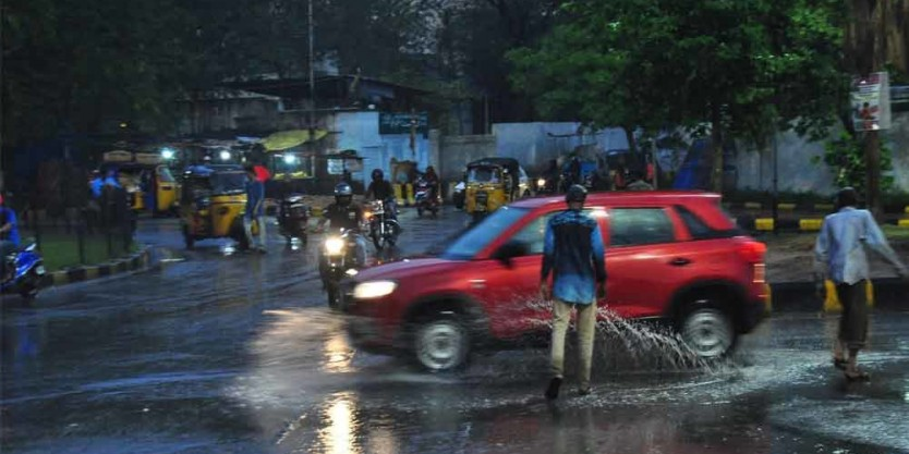 Monsoon sets in Telangana State