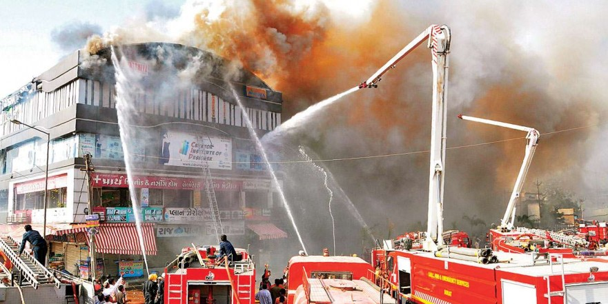 Surat mall fire: Gujarat govt report points to lapses