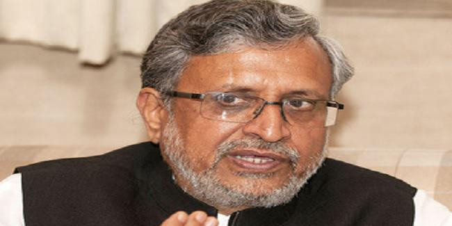 कांग्रेस को स्वाधीन भारत की मुस्लिम लीग बनाने पर तुले हैं कुछ नेता : सुशील मोदी