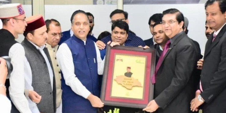जयराम ठाकुर ने किया मुख्यमंत्री होल्पलाइन सेवा का शुभारंभ