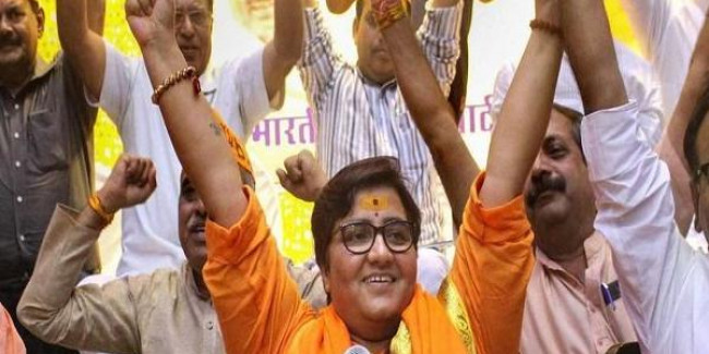 After removal of Article 370, Ram temple will now be built in Ayodhya: Pragya Thakur