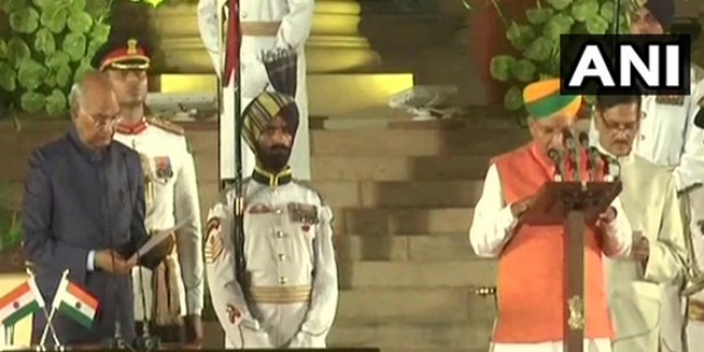 राजस्थान के तीन सांसद मोदी मंत्रिमंडल में हुए शामिल