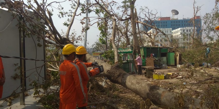Relief and restoration work on in Odisha