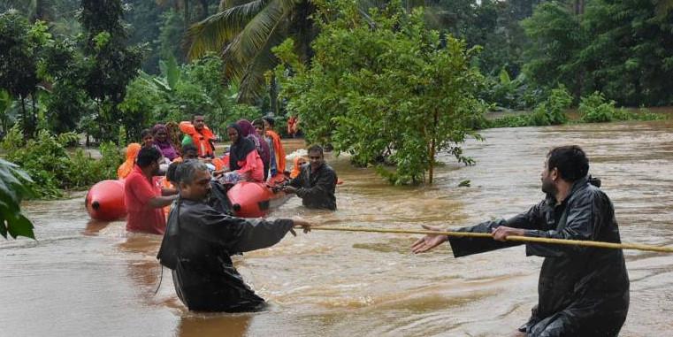 Maharashtra flood toll rises to 40; Amit Shah conducts aerial survey
