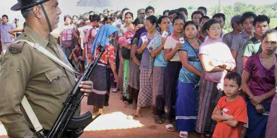 Mizoram Govt Carries out Re-Identification of Bru Refugees in Tripura Camps