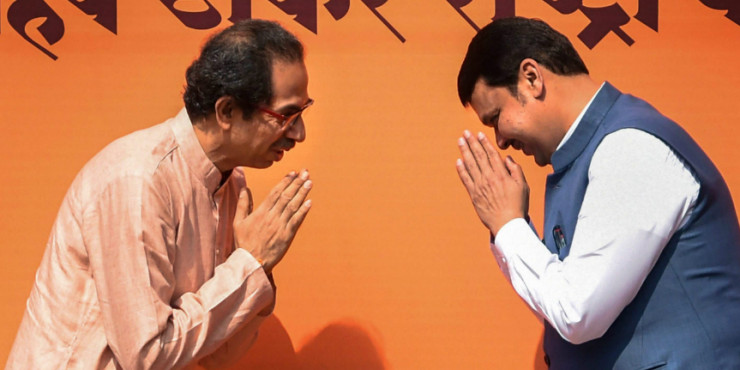 Seat Sharing Leads to Trouble in the BJP-Shiv Sena Paradise