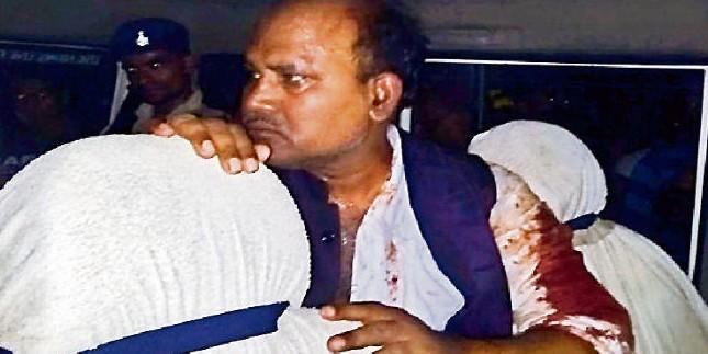 दो दलों के बीच भिड़ंत में विधायक को मारी गोली