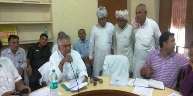 राज्य सरकार की मंशा है कि कोई भी गांव-ढाणी पेयजल आपूर्ति से वंचित नहीं रहे