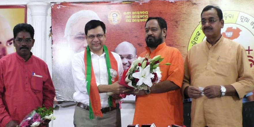 अश्विनी वैष्णव राज्यसभा के लिए नामित होने के बाद BJP में हुए शामिल