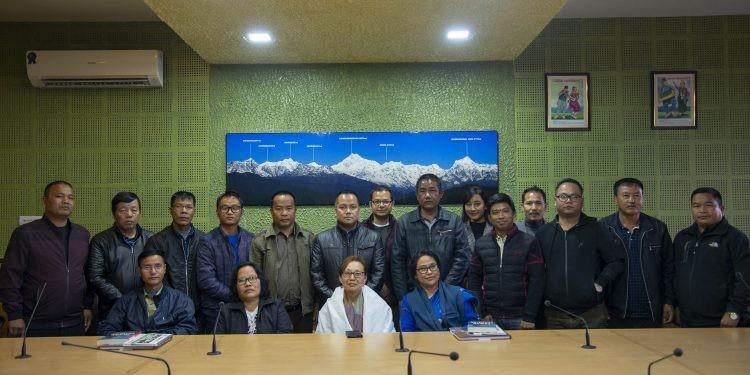 Mizoram media team on four-day exposure tour to Sikkim