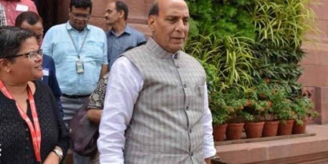 सदन में अपने ही विदेश मंत्री का 4 बार गलत नाम ले बैठे राजनाथ