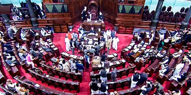 BJP bulldozes Rajya Sabha to get RTI amendment Bill passed