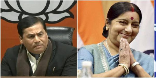 Assam CM, finance minister condole Sushma Swaraj's demise