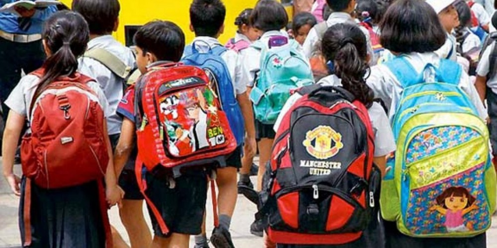 Meghalaya govt warns educational institutes over school bags' weight