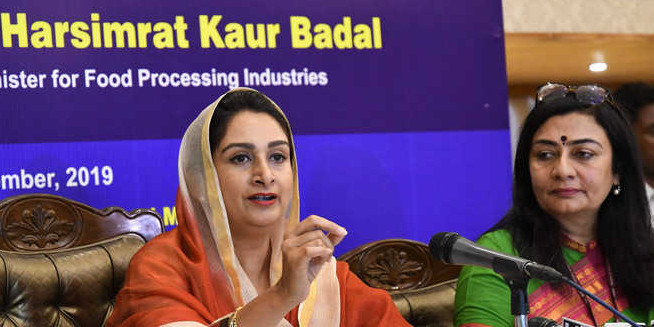 Cong govt discouraging food processing industry: Harsimrat