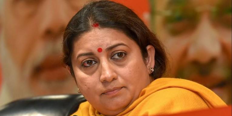 Gujarat admits to fraud in Smriti Irani's disbursement of MPLAD fund