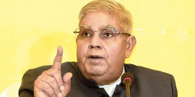 There is Censorship in Bengal: Governor Jagdeep Dhankhar