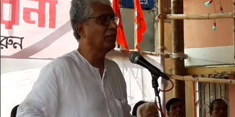 BJP murdered democracy in Tripura, alleges Manik Sarkar