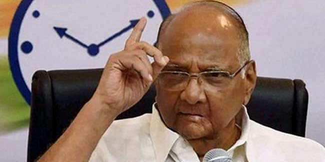 Present rulers putting pressure on people with cases against them: Sharad Pawar