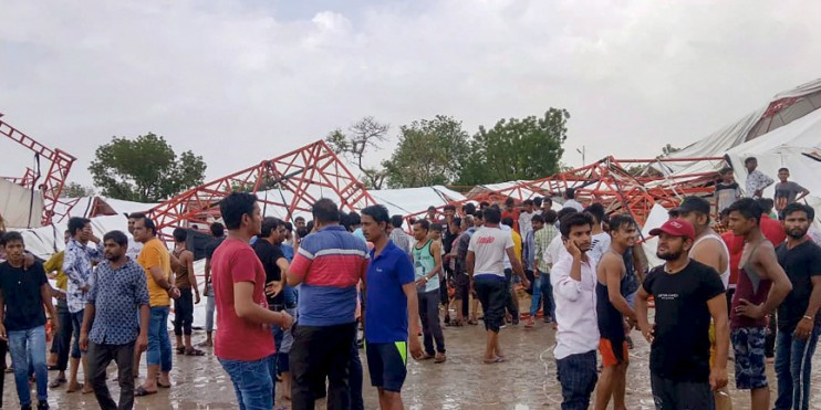 'Pained': From PM Modi to Amit Shah, 14 Deaths at Rajasthan Tent Collapse Leaves Nation in Shock