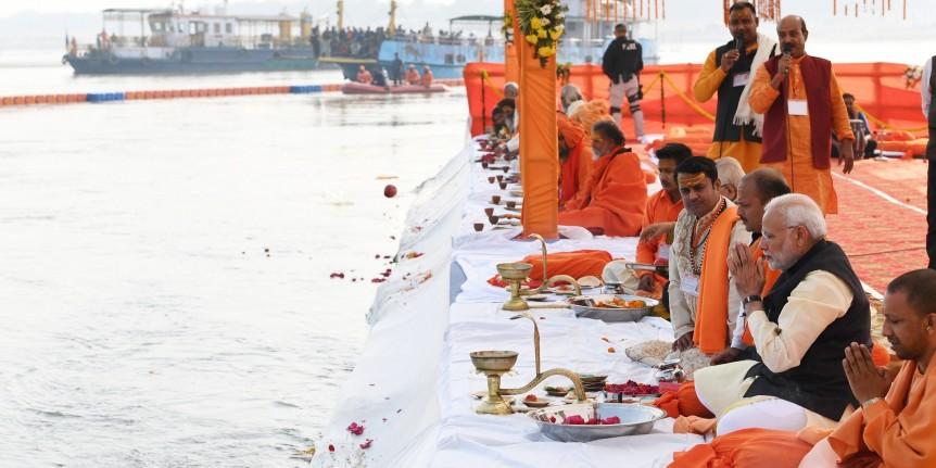 गंगा सफाई के मिली राशि पर मोदी सरकार ने कमाया 100 करोड़ रुपये का ब्याज