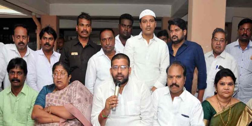 MLA Jakkampudi Raja assures to fulfill all promises