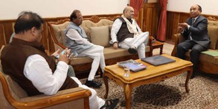Mizoram: CM conveyed needs of the people to Amit Shah
