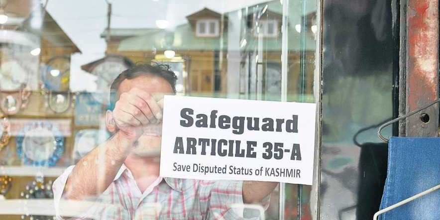 If SC upholds Article 35A, Centre will repeal it through presidential order: Jammu and Kashmir BJP