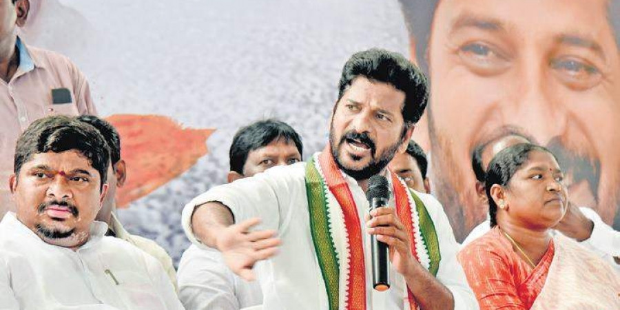 Telangana Congress MP alleges drama by BJP, TRS