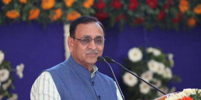 Gandhi, Sardar gave 'swaraj', Modi-Shah 'purna swaraj': Guj CM