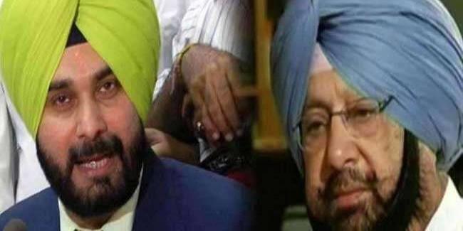 पंजाब कांग्रेस में 'संग्राम': सिद्धू ने फिर साधा कैप्टन अमरिंदर पर निशाना, इस बार दे दी ऐसी चुनौती
