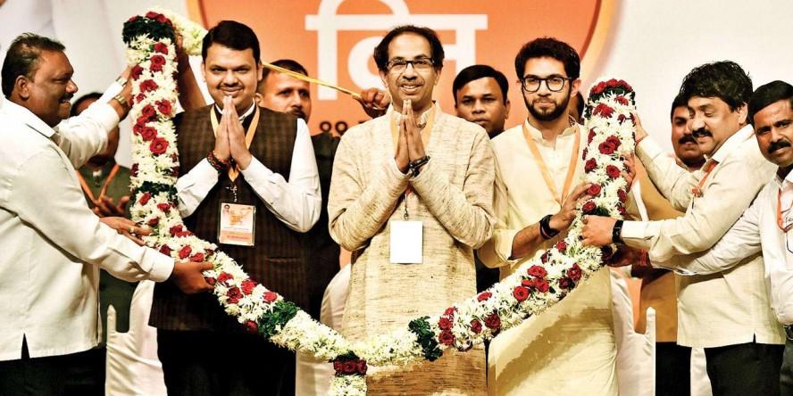 Shiv Sena reiterates demand for sharing equal seats in Maharashtra
