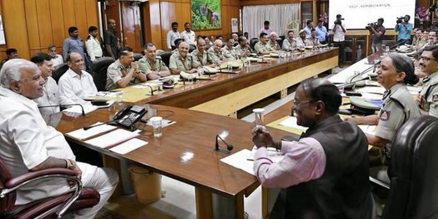 Yediyurappa effects major reshuffle in Police Department